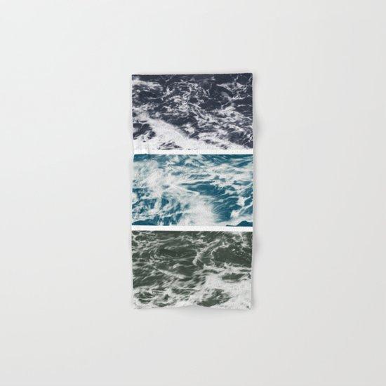SaltWater Tryptych Variation II Hand & Bath Towel