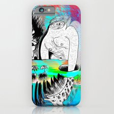 Giraffe Eyes in the Magnetic Field Slim Case iPhone 6s