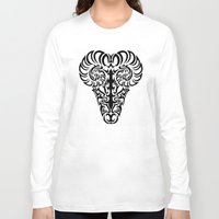 aries Long Sleeve T-shirts featuring Aries by Mario Sayavedra