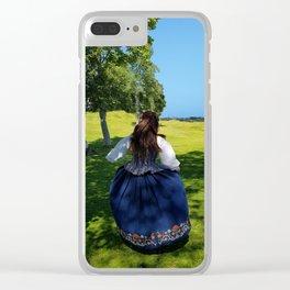 Summerdance Clear iPhone Case