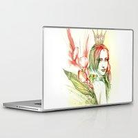 princess Laptop & iPad Skins featuring Princess by Veronika Neto