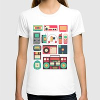 technology T-shirts featuring Retro Technology 1.0 by Ralph Cifra