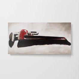 Tools: Wrench Metal Print