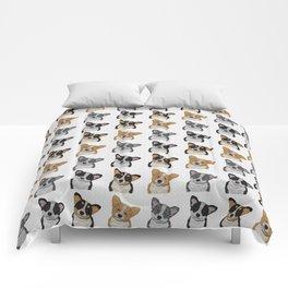 Welsh Corgi Pattern Comforters