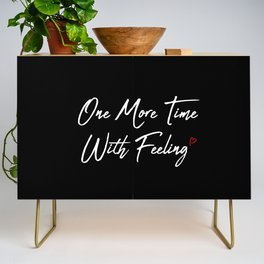 One More Time Credenza