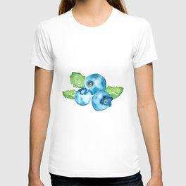 Watercolour Blueberry T-shirt
