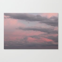 Whisps In The Sky Canvas Print