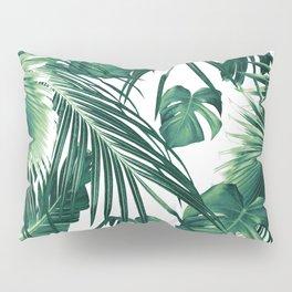 Tropical Jungle Leaves Dream #3 #tropical #decor #art #society6 Pillow Sham
