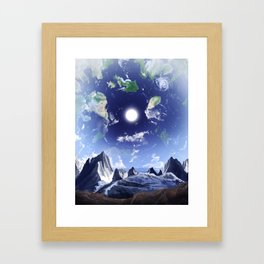 Inverse Framed Art Print