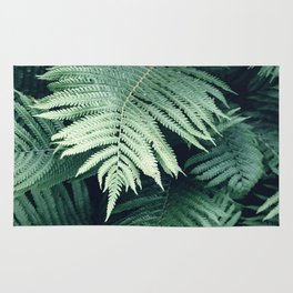 Fern Leaf / Botanical Rug