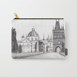 Charles Bridge in Prague, Czech Republic Carry-All Pouch