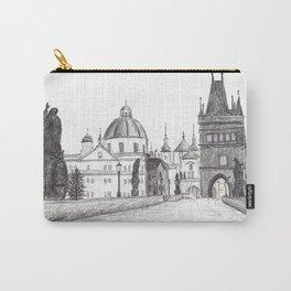 Charles Bridge in Prague, Czech Republic Carry-All Pouch