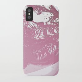 Reflected Pink iPhone Case