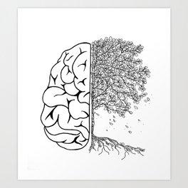 Free of Thought (G.V.O) Art Print