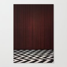Black Lodge / Red Room Twin Peaks Canvas Print