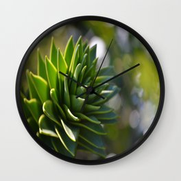 Sparkles in Green Wall Clock