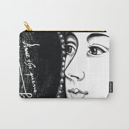 Queen Anne Boleyn Portrait  Carry-All Pouch