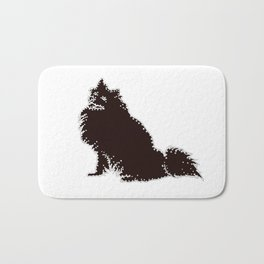I have Connected the American Eskimo Dog Doggy Dots! Bath Mat