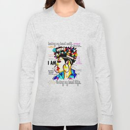 ARTFIRMATION COLLECTION- LIVING MY BEST LIFE Long Sleeve T-shirt