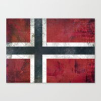norway Canvas Prints featuring Norway by Arken25