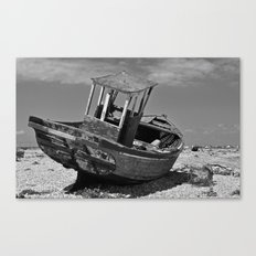 Shingle Sailor Canvas Print