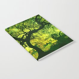 Green is the Tree Notebook