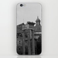 roman iPhone & iPod Skins featuring Roman Wanderings by Upperleft Studios