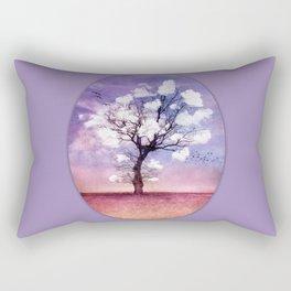 ATMOSPHERIC TREE - Pick me a cloud III Rectangular Pillow