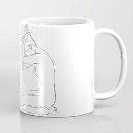 Life drawing figures - Eve Coffee Mug