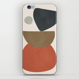Abstract Balancing Stones iPhone Skin