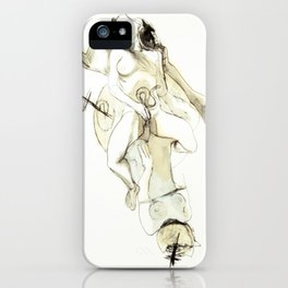 Tristan Corbière, Thick Black Trace, Pudentiane iPhone Case