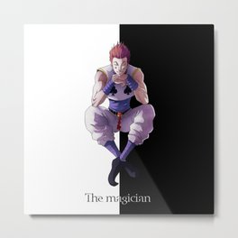 Hunter X Hunter Hisoka 1 Metal Print