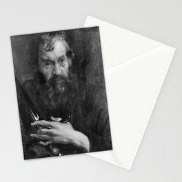 Anthony van Dyck - Hl Paulus (Werkstattkopie) Stationery Cards