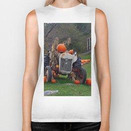 October Scenery Biker Tank