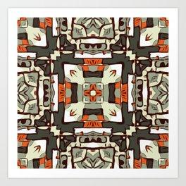 Arizona Mosaic Art Print