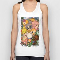 animal crossing Tank Tops featuring Animal Crossing Newest Leaf by Haunted Elevator