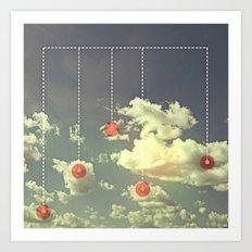 Núvols (iPhone Created) Art Print