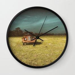 Lost In Time Truck Travel Wall Clock