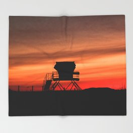 Tower 22 Sunset Throw Blanket