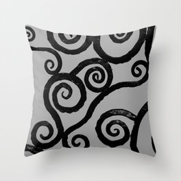 Spirals - pieces of Dublin Throw Pillow
