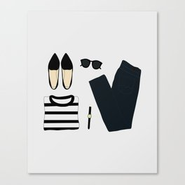 Spring Outfit Canvas Print