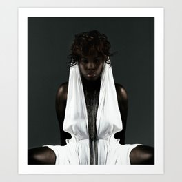 The Dark Queen Art Print