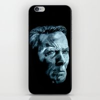clint eastwood iPhone & iPod Skins featuring Clint Eastwood by artbyolev