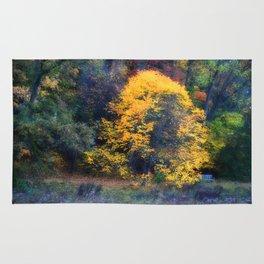Golden Tree Rug