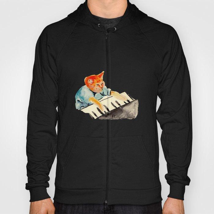 watercolour keyboard Hoody