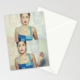 Miley Cyrus x Cigarette  Stationery Cards