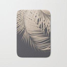 Palm Leaves Sepia Vibes #1 #tropical #decor #art #society6 Bath Mat