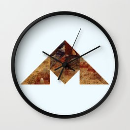 COAL MOUNTAIN Wall Clock