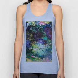 Malachite Cosmos Unisex Tank Top