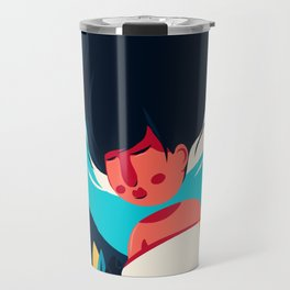 Women Dreaming Travel Mug